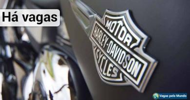 Harley Davidson esta contratando
