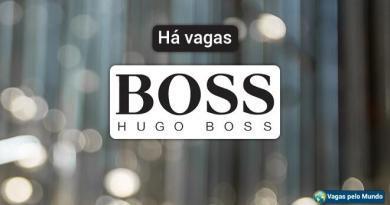 Hugo Boss esta contratando em diversos paises