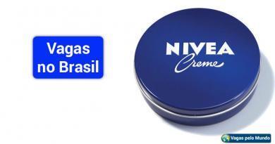 Nivea esta contratando no Brasil