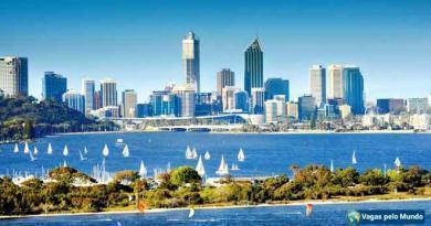 Perth tem centenas de oportunidades de emprego abertas