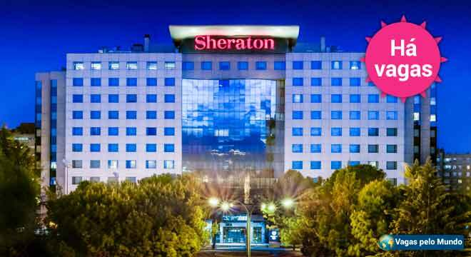 Vagas no hotel Sheraton