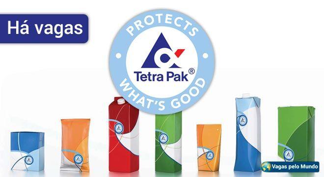 Tetra Pak esta contratando em diversos paises
