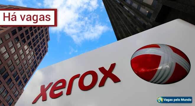 Xerox esta contratando em diversos paises do mundo