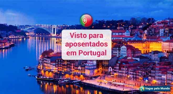 Visto aposentado Portugal