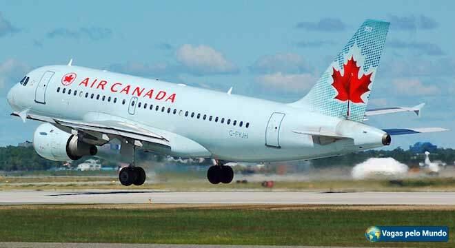 Vagas na Air Canada