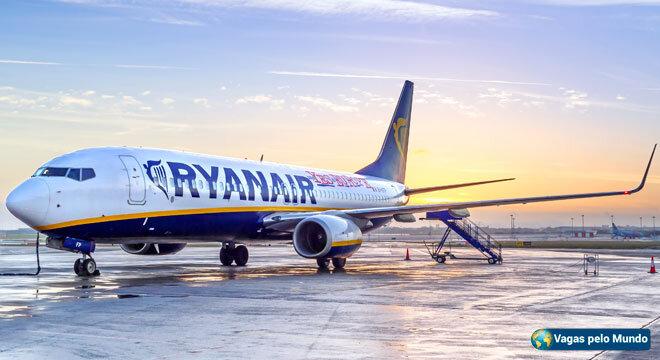 Novas vagas na Ryanair