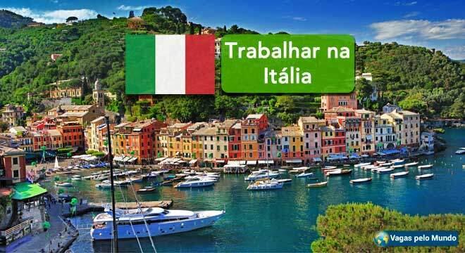 Trabalho na Italia