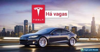 Tesla Motors esta contratando em diversos paises