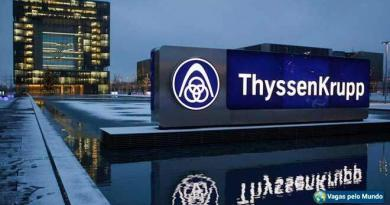 Thyssenkrupp esta com programa de trainee aberto