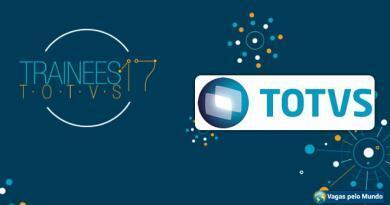 TOTVS esta com programa de trainee aberto
