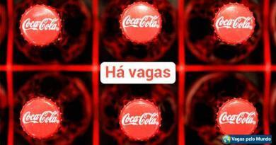Coca Cola esta contratando em diversos paises