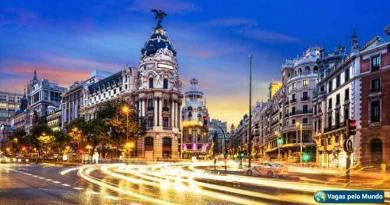 Vagas em Madri
