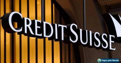 Vagas no banco Credit Suisse
