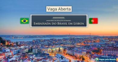 Embaixada do Brasil em Lisboa esta com uma oportunidade de trabalho