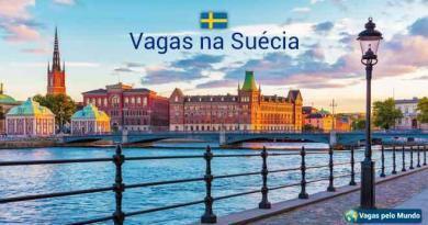 Suecia tem quase 20 mil vagas abertas