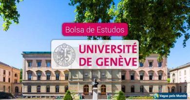 Universidade de Genebra tem bolsas de estudo
