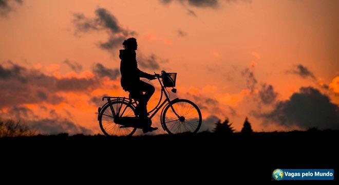 Morar fora e como andar de bicicleta