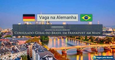 Embaixada do Brasil em Frankfurt esta contratando