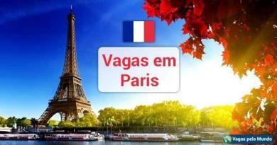 Vagas em Paris