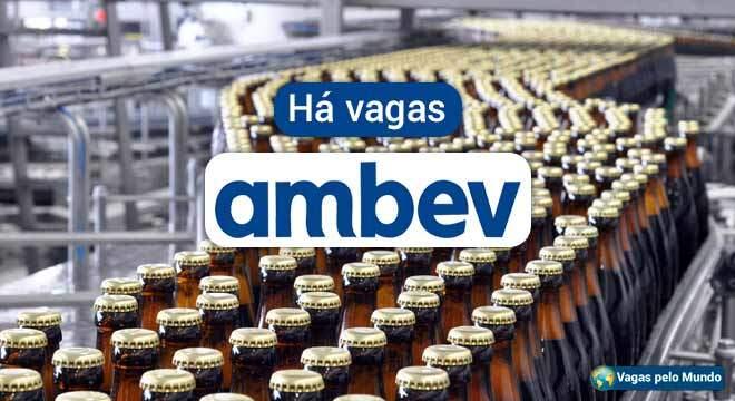 Ambev tem mais de 1,3 mil vagas abertas
