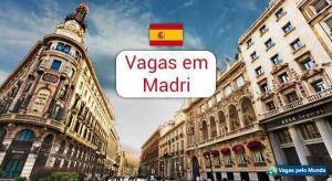 Madri tem vagas para quem fala portugues