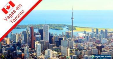 Toronto tem mais de 30 mil vagas abertas