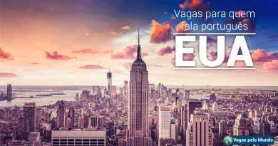 EUA tem vagas abertas para quem fala portugues