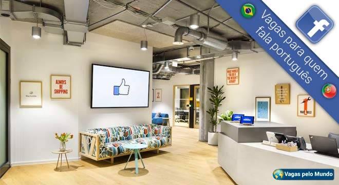 Vagas no Facebook