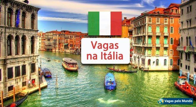 Vagas na Italia
