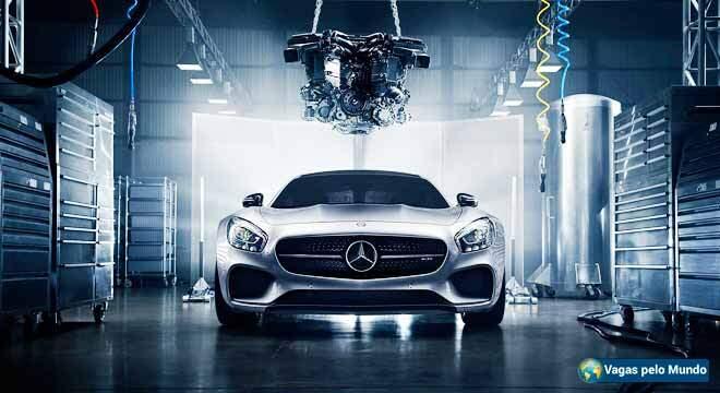 Mercedes esta contratando em Portugal