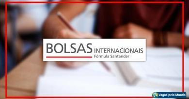 Santander tem bolsas de estudo em 20 paises
