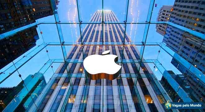 Apple tem vagas para quem fala portugues
