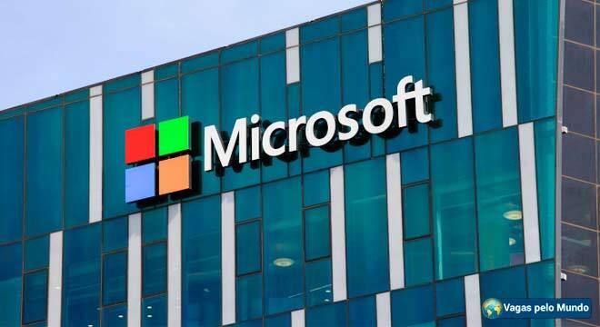 Microsoft tem vagas para quem fala portugues