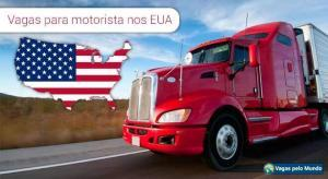 Milhares de vagas abertas para motoristas de caminhão nos EUA