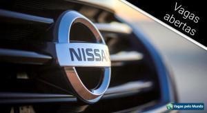 Nissan tem mais de 600 vagas abertas