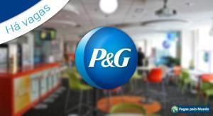 P&G esta contratando e tem quase 900 vagas