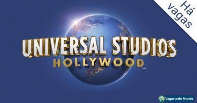 Universal Studios tem vagas abertas na California