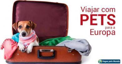 Viajar com animais para Europa