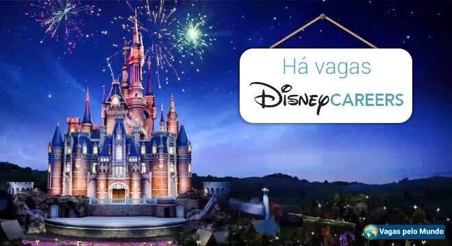 Disney esta selecionando profissionais fluentes em portugues