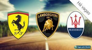 Ferrari, Lamborghini e Maserati estao contratando