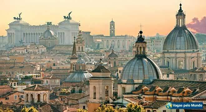 Vagas em Roma