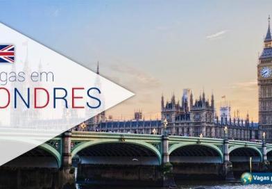Londres tem vagas para fluentes em português