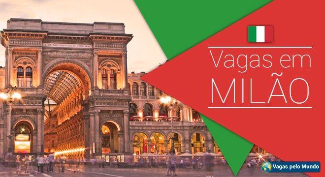 Vagas em Milao