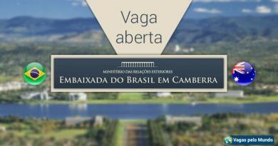 Embaixada do Brasil em Camberra tem vaga aberta