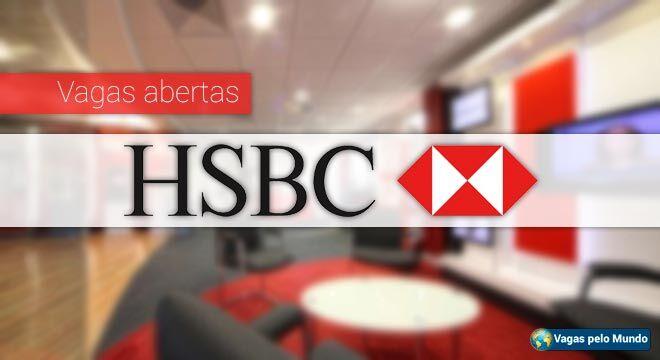 HSBC esta com mais de 2 mil vagas abertas