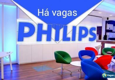 Philips tem mais de 1.300 vagas abertas
