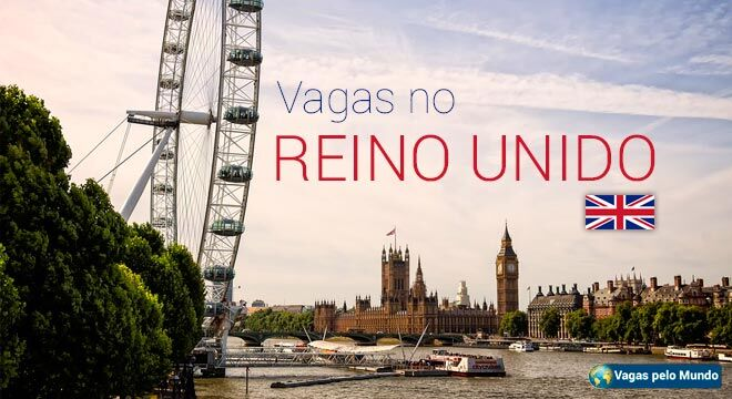 Reino Unido tem quase 2 mil vagas abertas para quem fala portugues