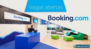 Booking.com esta com mais de 400 vagas abertas