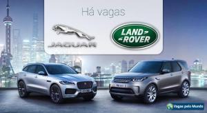Jaguar Land Rover esta com centenas de vagas