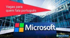 Microsoft esta contratando profissionais fluentes em portugues